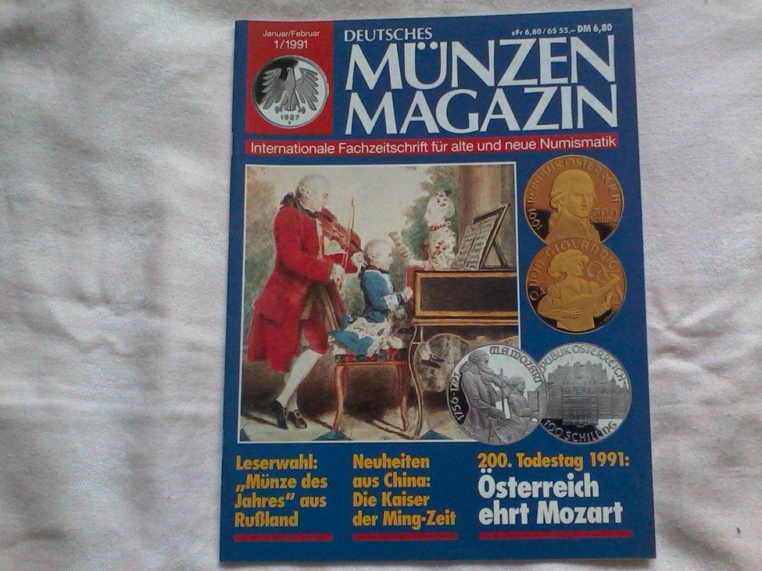 Deutsches Münzen Magazin Januarfebruar 1991 Von Unbekannt Tauschen