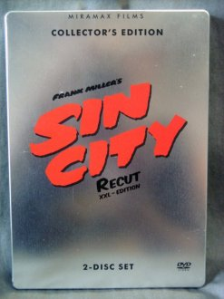 SIN CITY | Recut XXL-Edition | 2-Disc Set im Steelbook