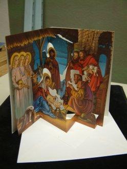 Nostalgische Weihnachtskarten Kostenlos.Nostalgische Weihnachtskarte Pop Up