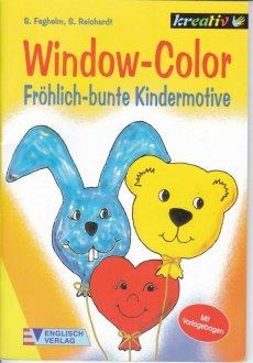 Window Color Fröhlich Bunte Kindermotive Mit Vorlagebogen Von