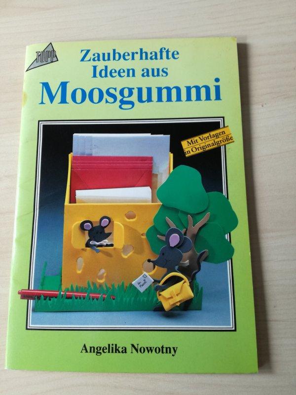 Basteln Mit Moosgummi Von Angelika Nowotny Tauschen Tauschbörse Und