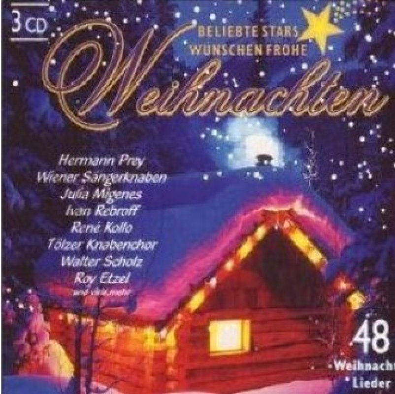 beliebte stars w nschen frohe weihnachten 3cds von prey. Black Bedroom Furniture Sets. Home Design Ideas