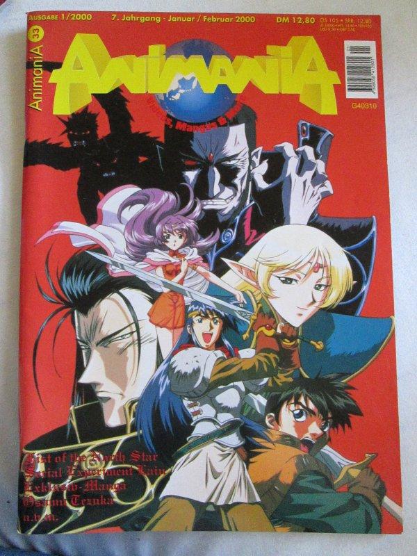 animania magazin  nr 33 heft 1 2000 z b pokemon