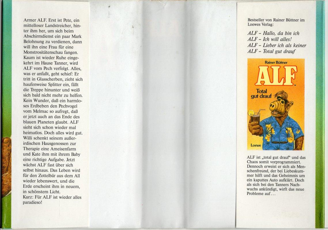 Alf Alles paradiso von Rainer Büttner tauschen: Tauschbörse und ...