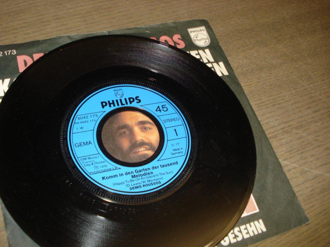 Single Schallplatten Zum Basteln