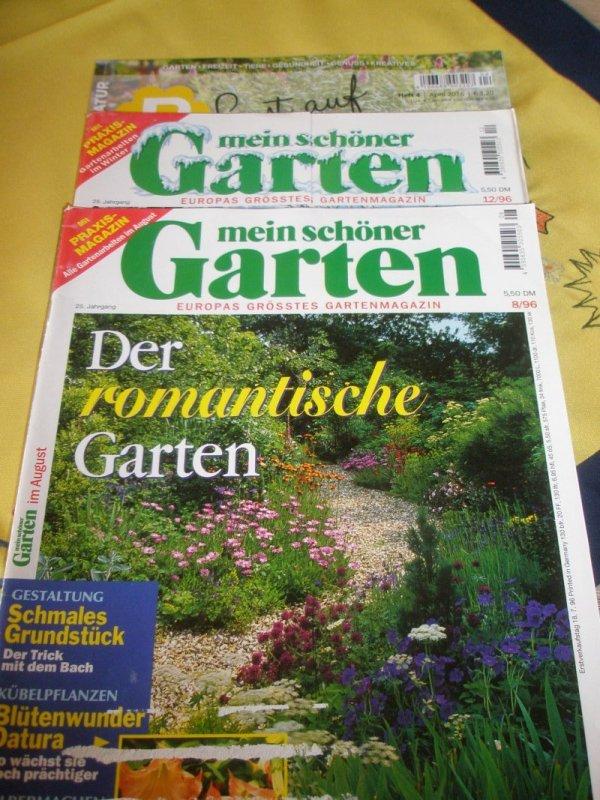 1x Lust auf Natur und 2x Mein schöner Garten von unbekannt tauschen ...