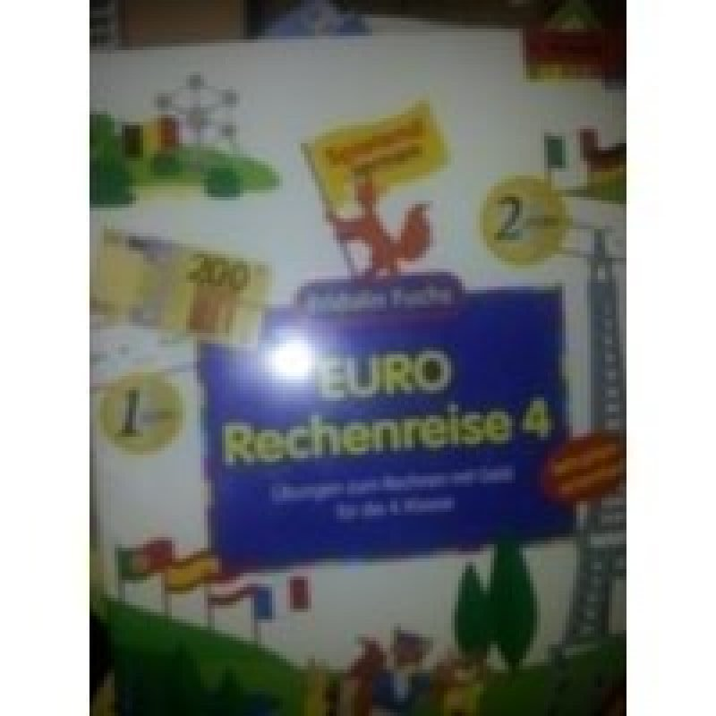 mit Bogen voll Spielgeld: Euro Rechenreise, A 4- Übungen mit Geld ...