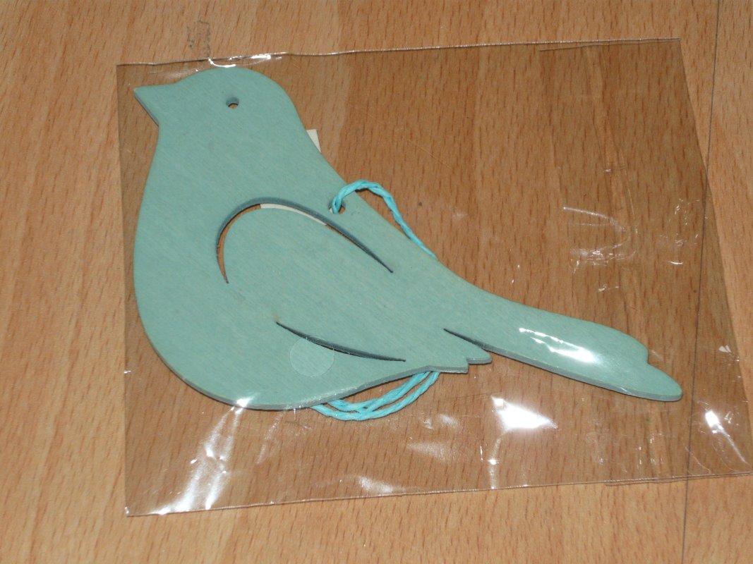 grüner vogel, an einer schnur, zum aufhängen, tauschen: tauschbörse