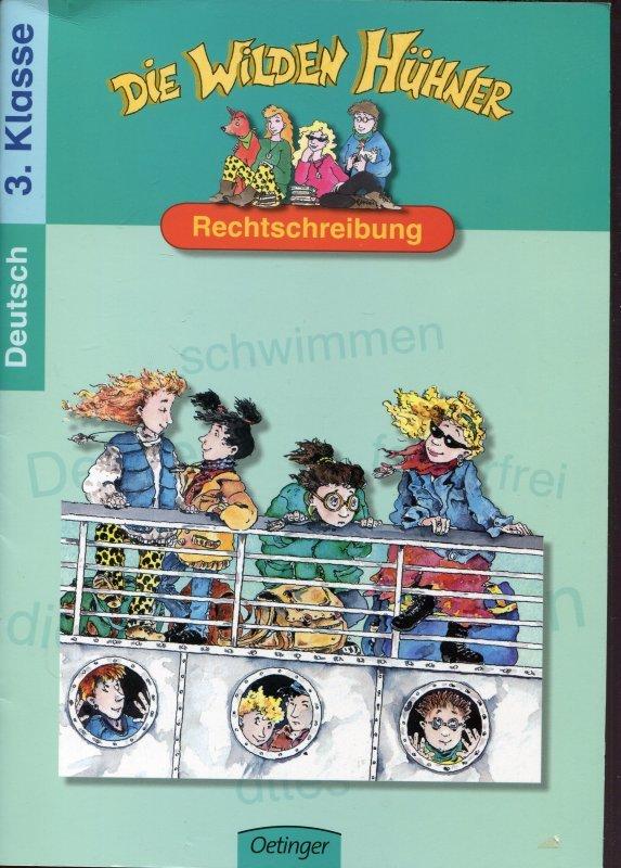 TP Licht an Die Wilden Hühner - Rechtschreibung: Deutsch 3. Klasse ...