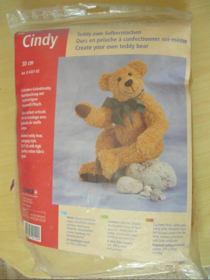 teddy zum selbermachen, cindy, glorex, tauschen: tauschbörse und