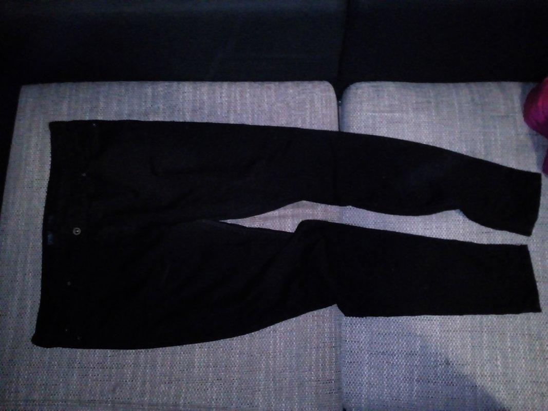 ea9d7a0a2a67 schwarze Stretch Jeans Gr. 46 von unbekannt tauschen  Tauschbörse ...