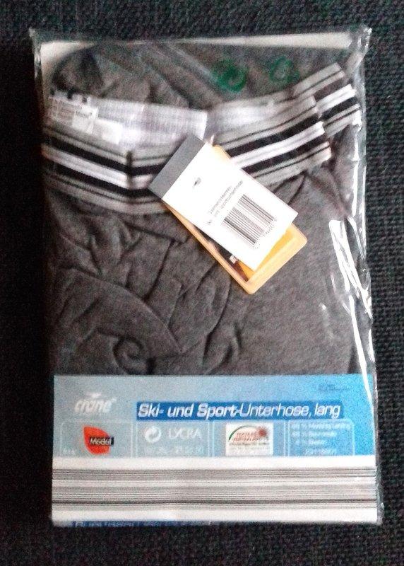 d0d39f4dfe541 Damen Herren Ski- und Sport Unterhose lang XL von Crane tauschen ...