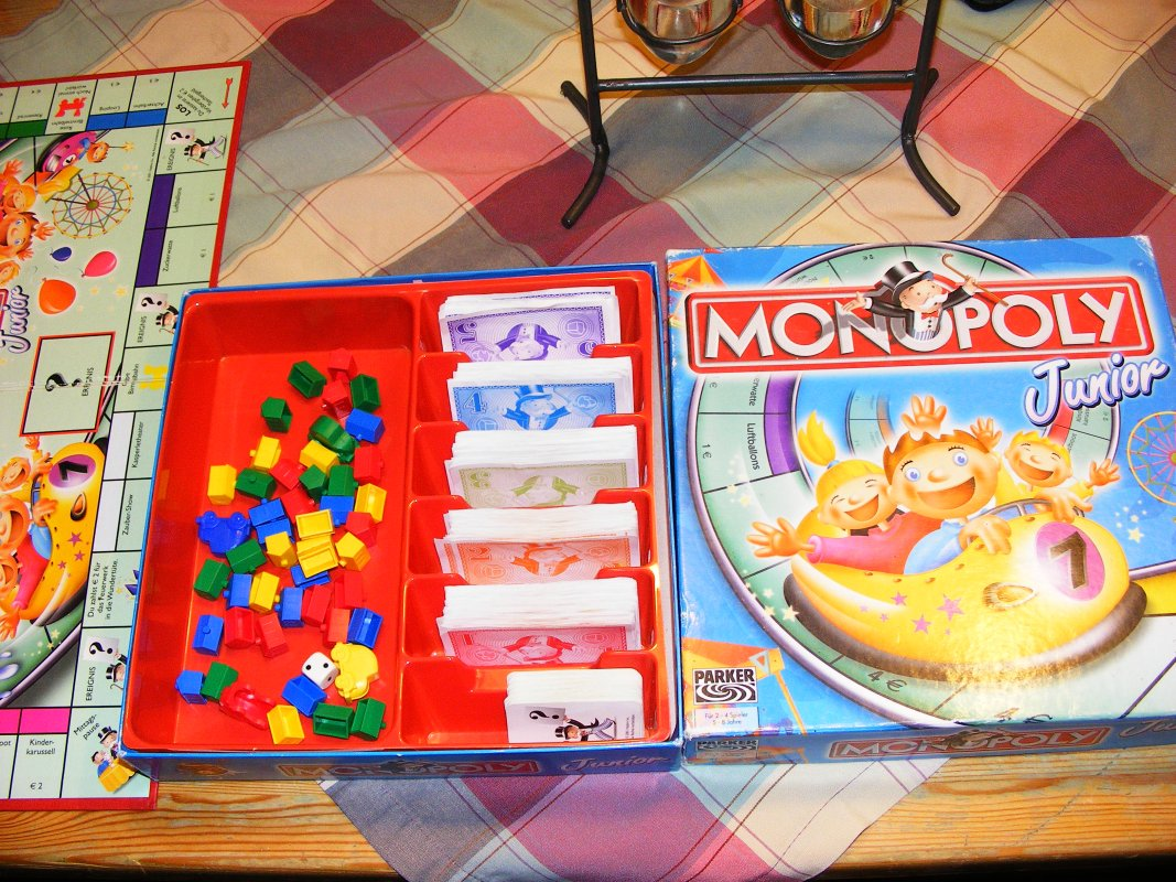 Monopoly Junior Anleitung