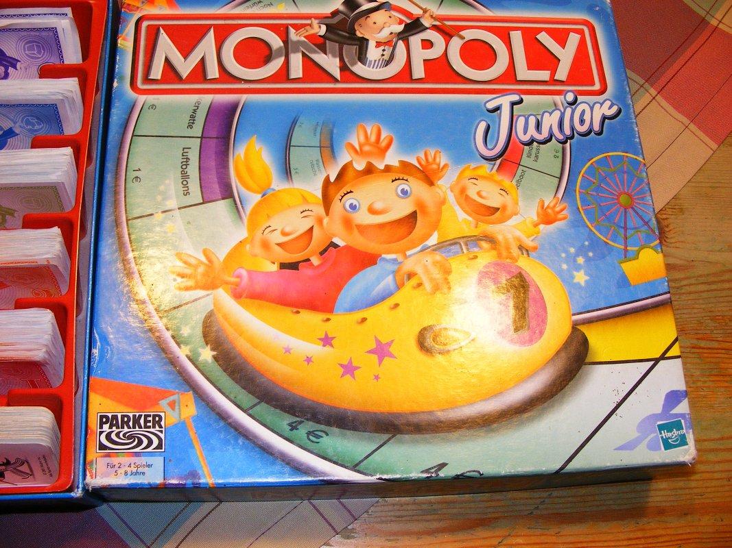 Anleitung Monopoly Junior