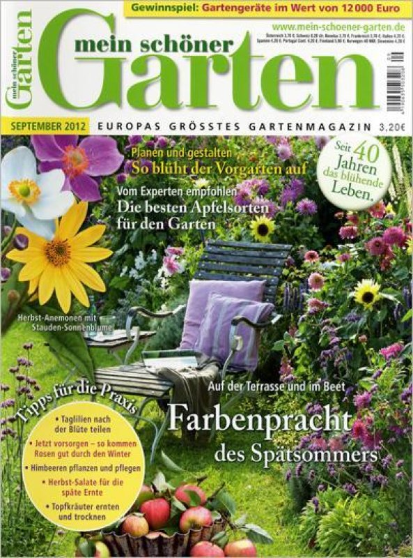 mein schöner Garten *Sept. und Dez.* - 2 Garten-Zeitschriften von ...