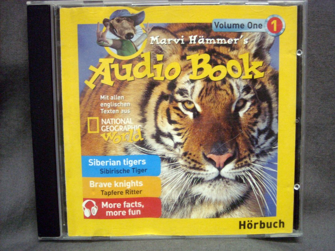 National Geographic World Marvi Hämmer S Audio Book Volume One 1