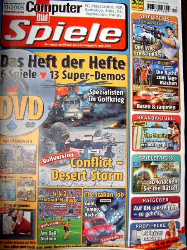computer bild spiele 2005