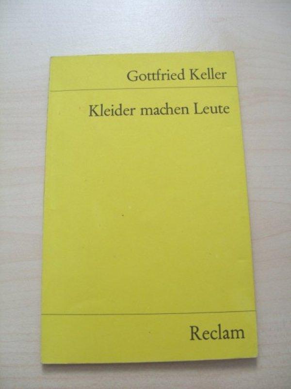 Kleider Machen Leute Von Gottfried Keller Tauschen Tauschborse Und