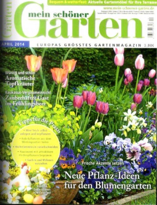 mein schöner Garten *April 2014* - Garten-Zeitschrift